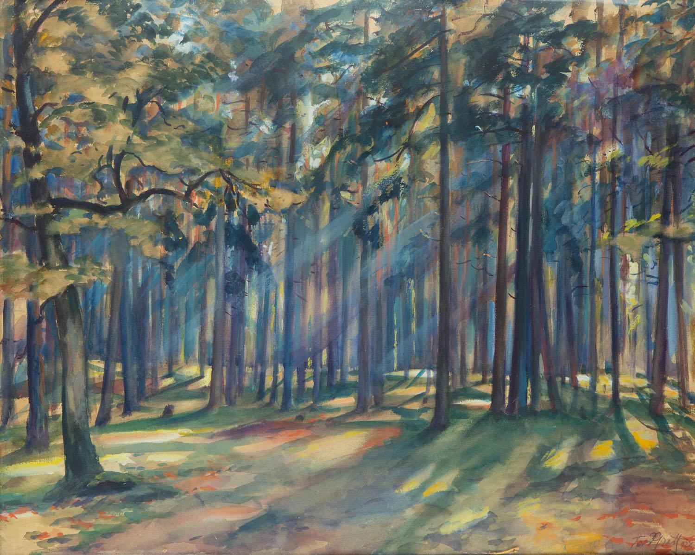 Las w słonecznym świetle, 1927