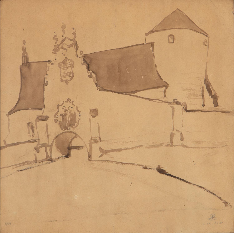 Klasztor, 1917