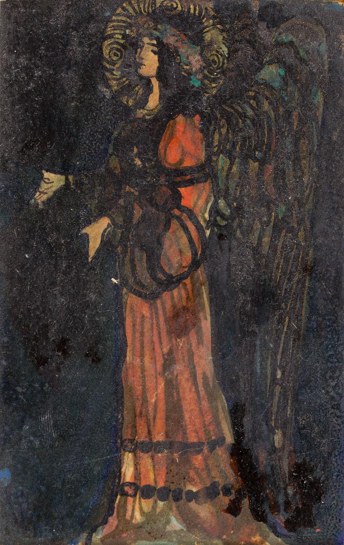 """""""Anioł mozaikowy"""", 1907"""