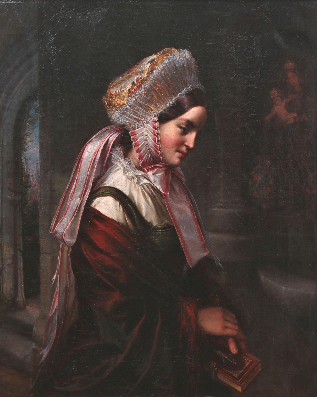 Portret młodej Warmiaczki, 1854 r.