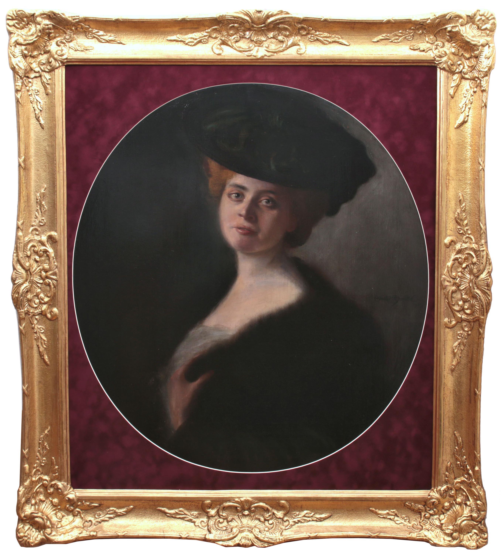 Portret damy, 1903 r.