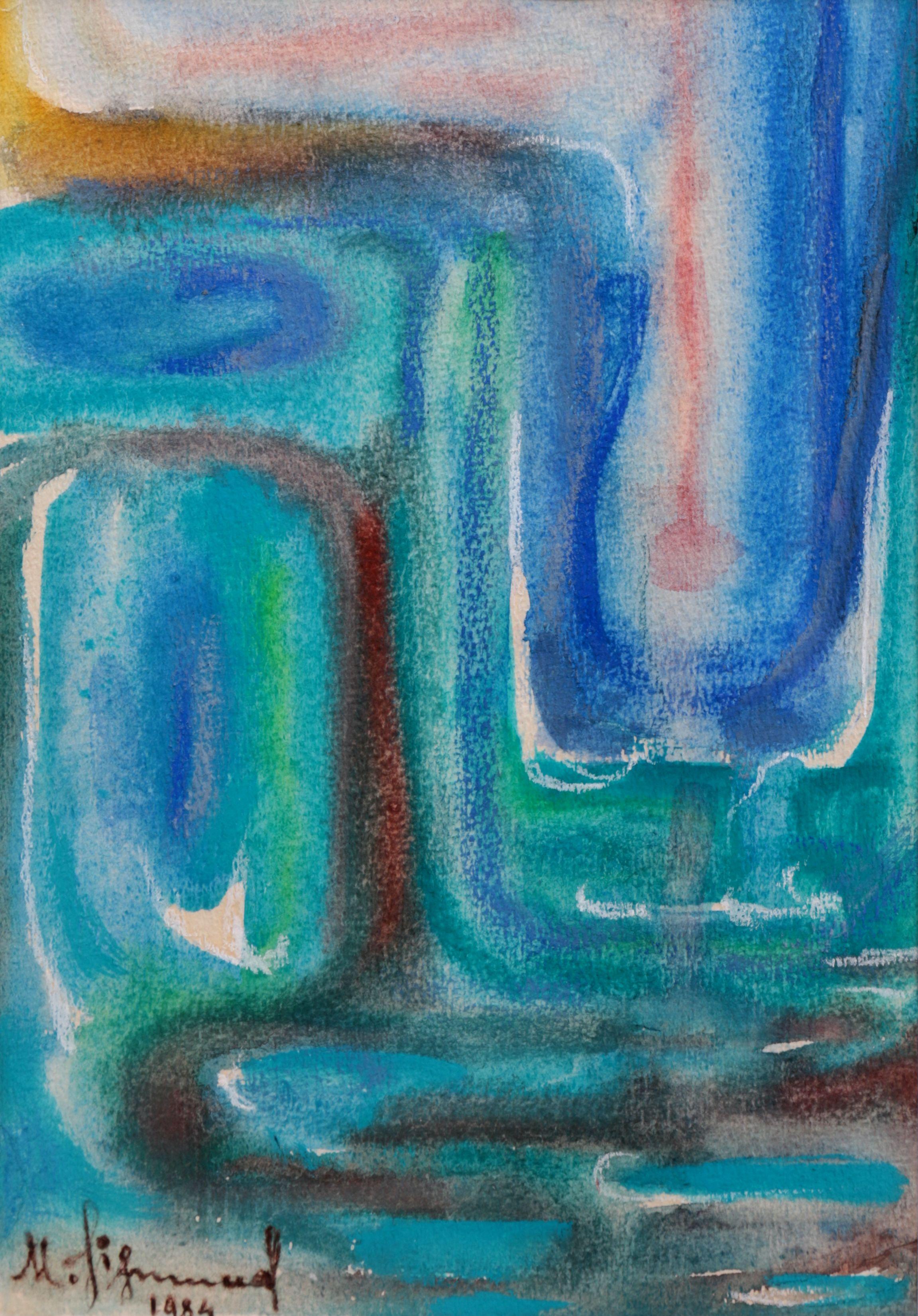 Kompozycja abstrakcyjna, 1984 r.