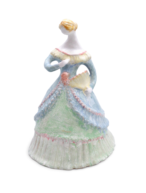 Figura kobiety z wachlarzem