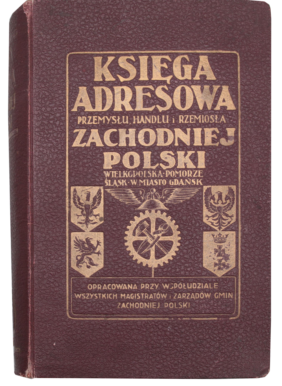 Księga adresowa przemysłu, handlu i rzemiosła Zachodniej Polski