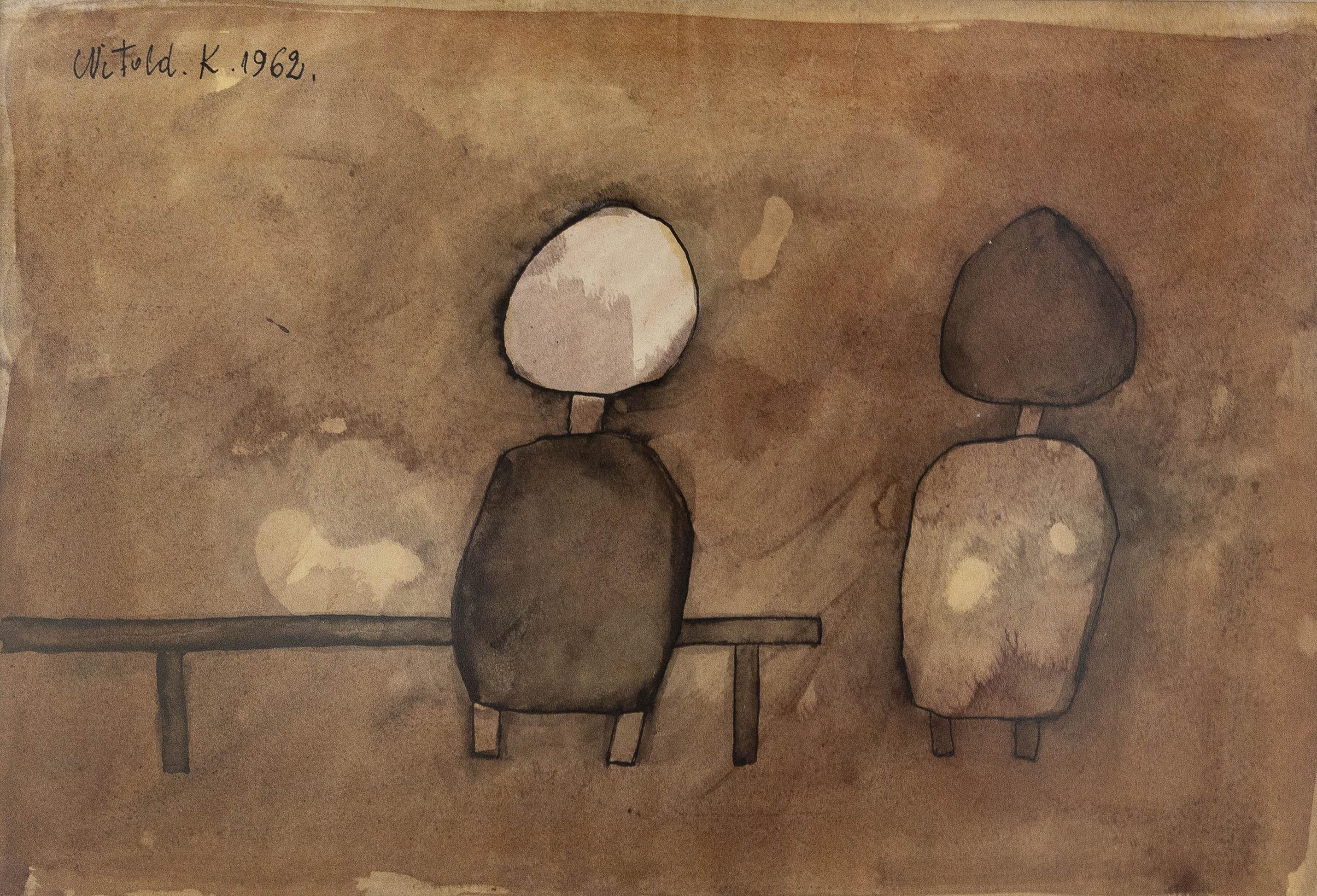 """Praca z cyklu """"People"""", 1962"""