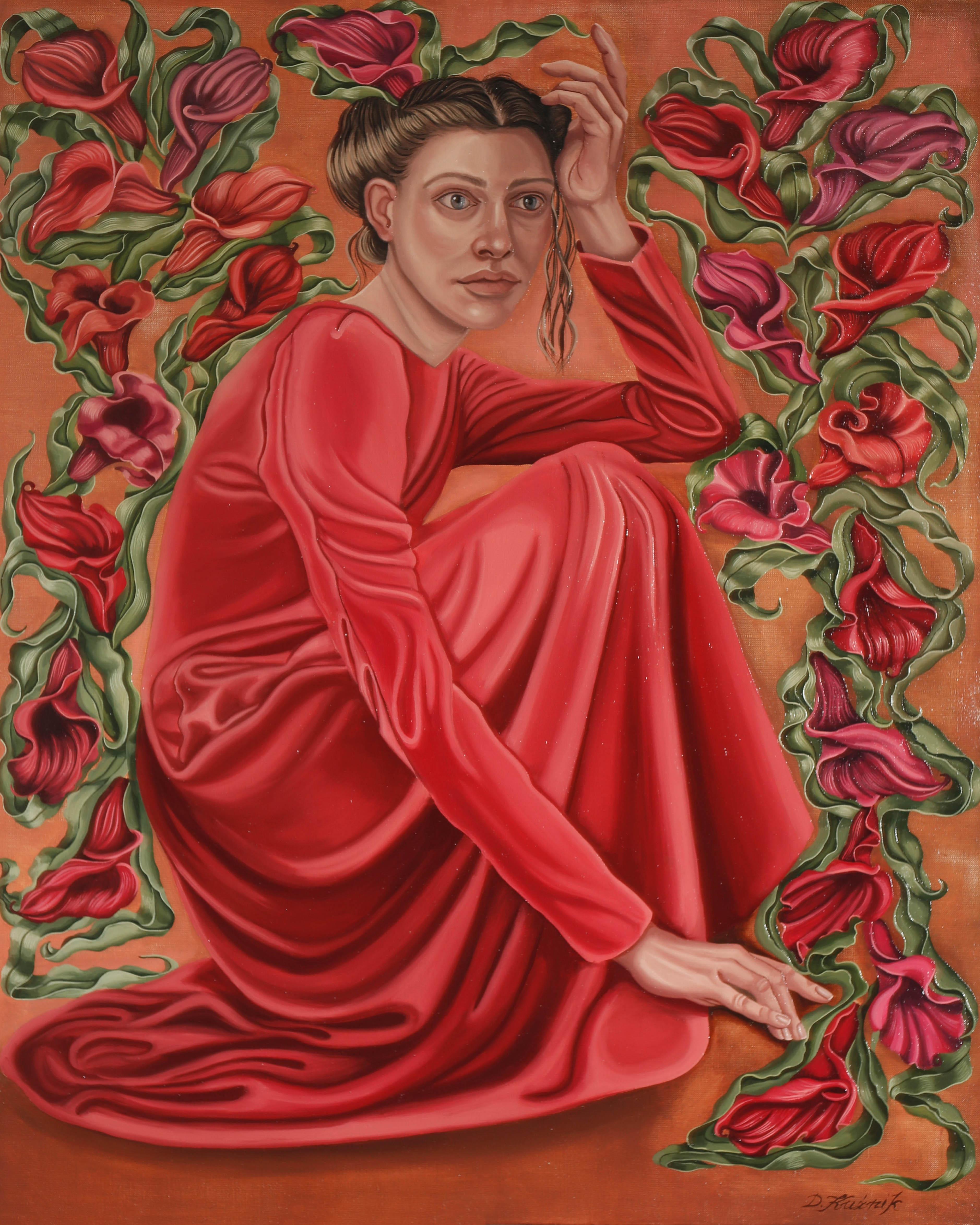 Czerwona sukienka, 2021
