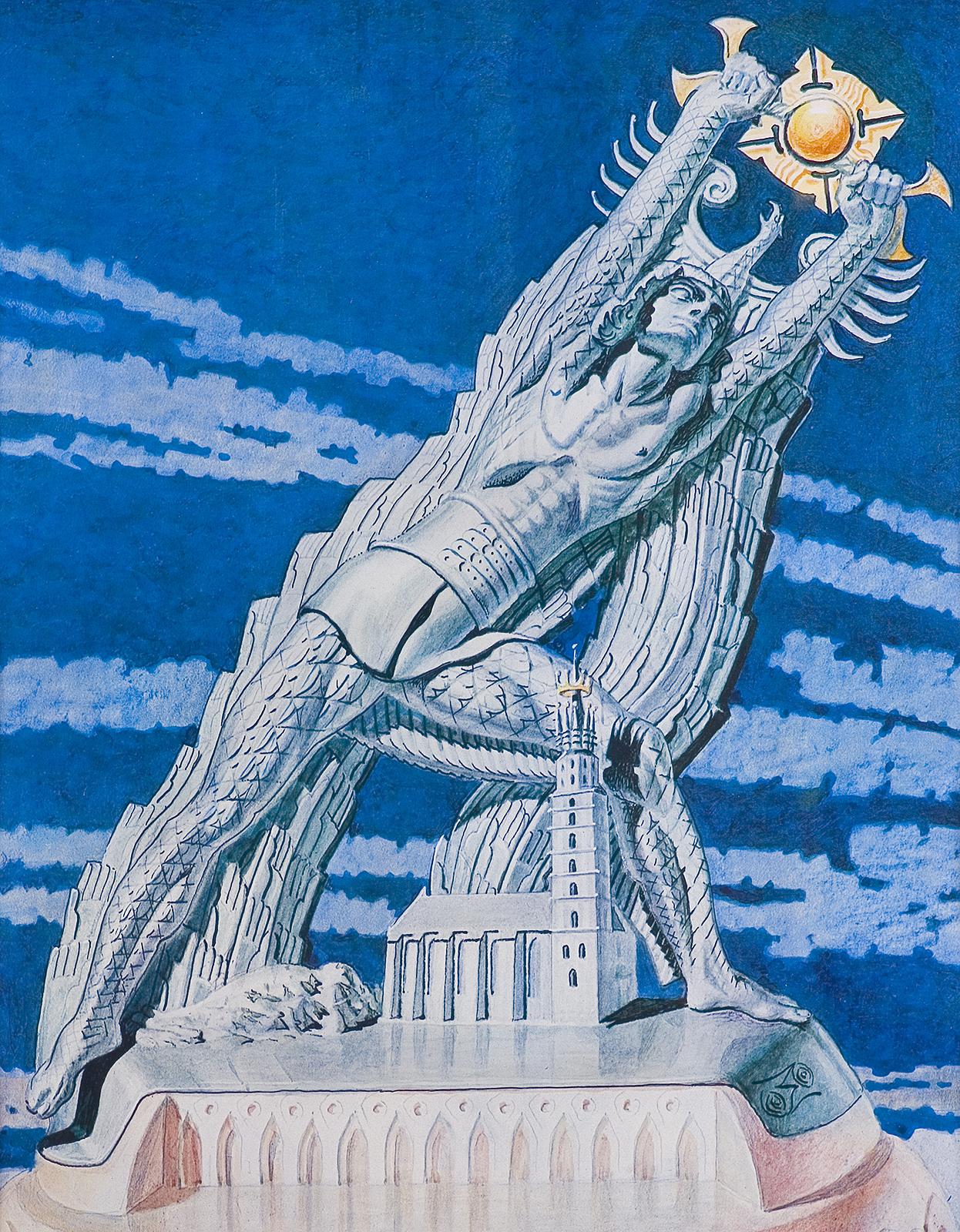 KOPERNIK WSTRZYMUJĄCY SŁOŃCE, 1973
