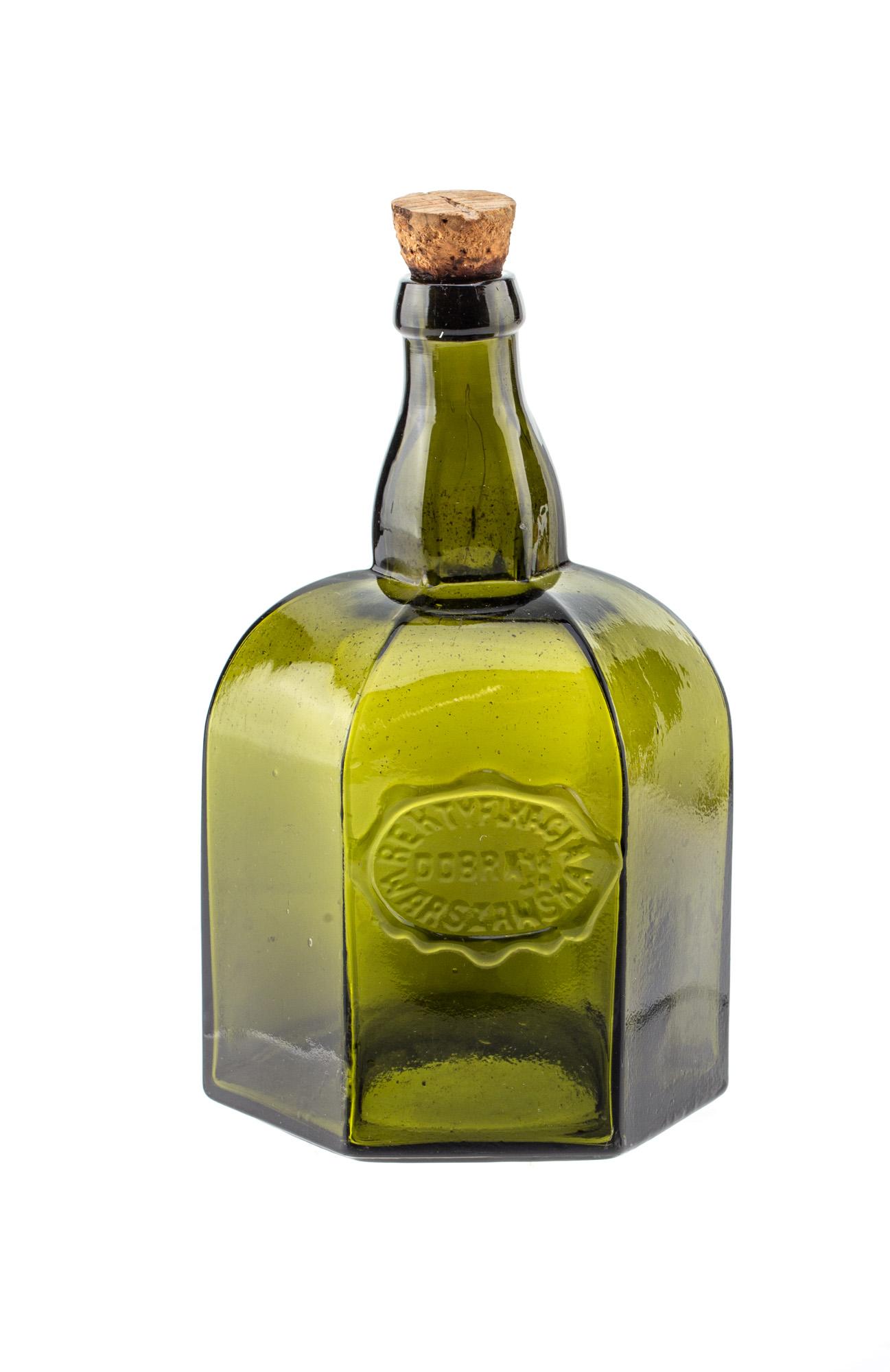 Butelka z korkiem, koniec XIX w.