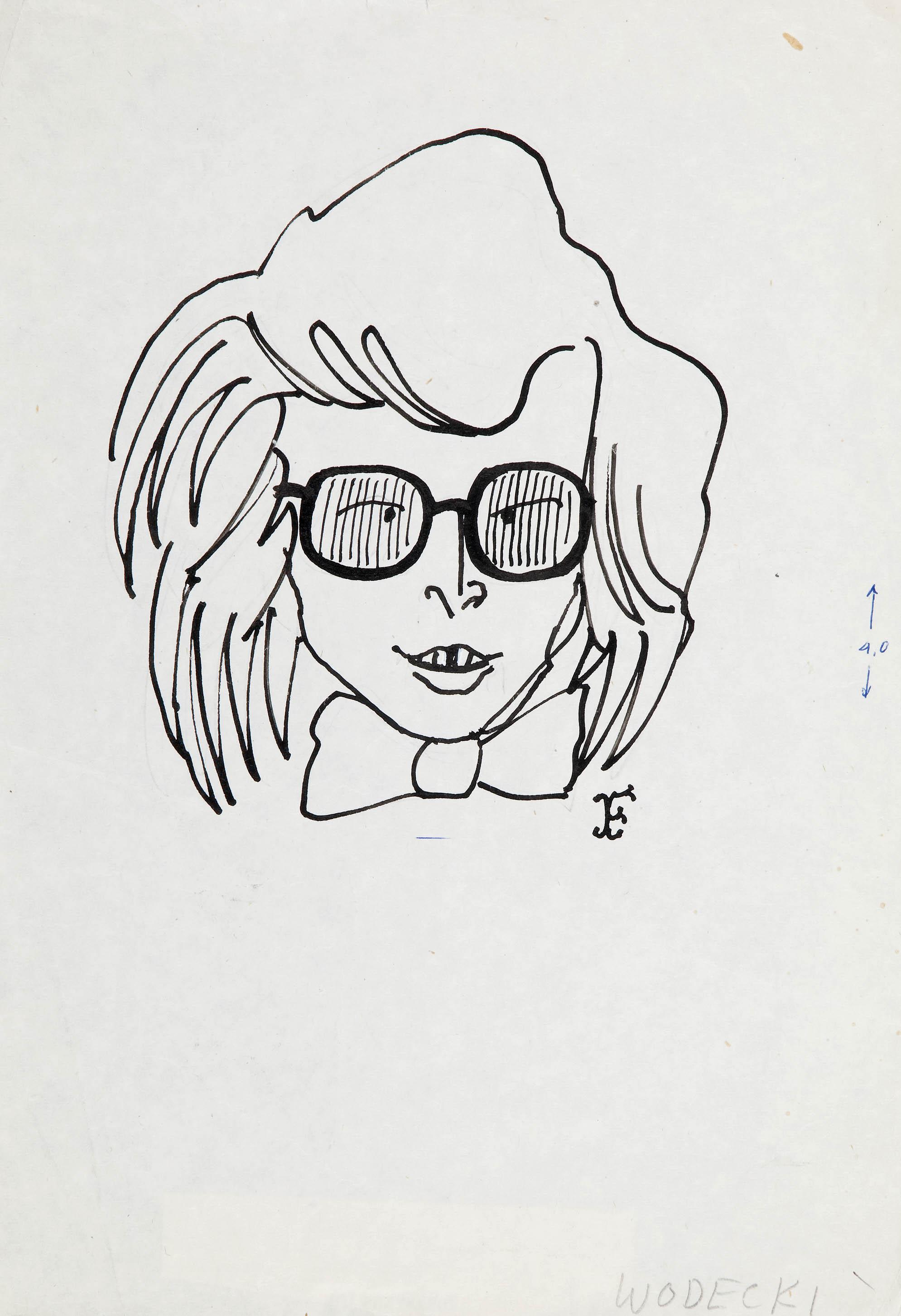 Zbigniew Wodecki, karykatura