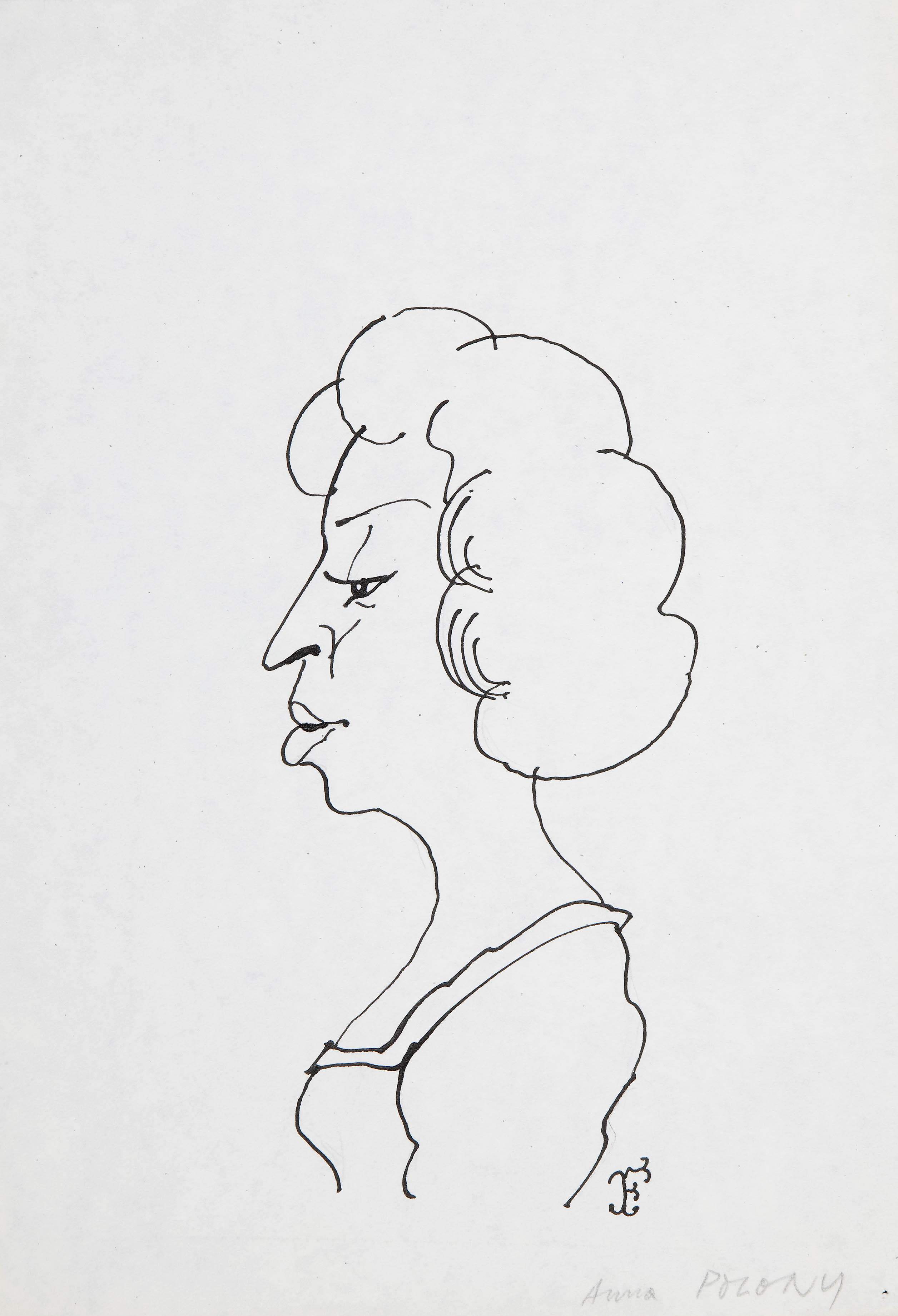 Anna Polony, karykatura