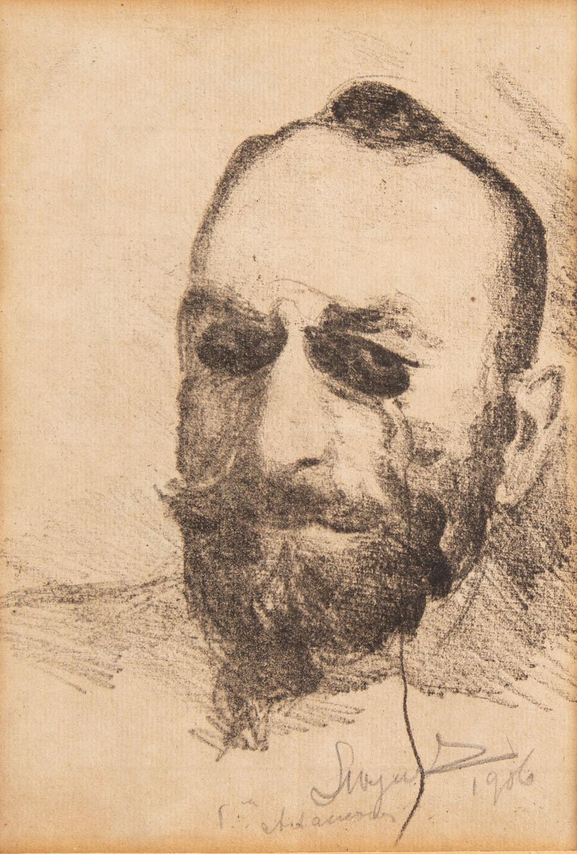 "Portret Feliksa ""Mangghi"" Jasieńskiego, 1906"