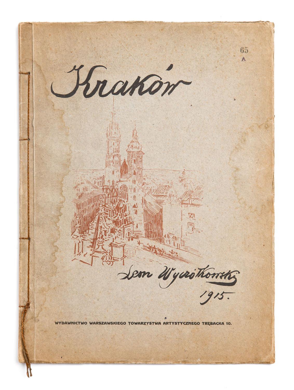 """Kraków. 12 Autolitografii"", 1915"