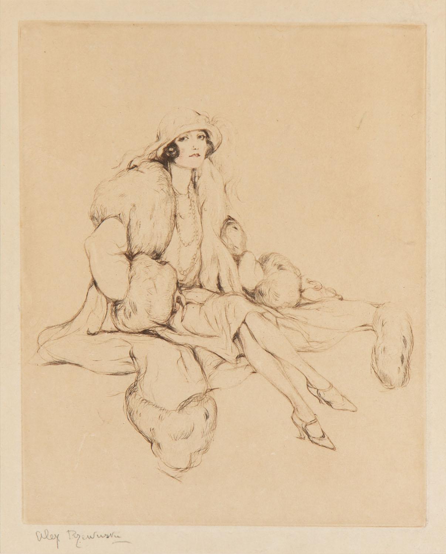 Maharani Kapurthali (Anita Delgado-Brionés), 1925