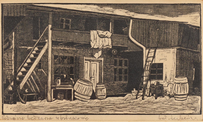 Podwórze bednarza w Ostrzeszowie