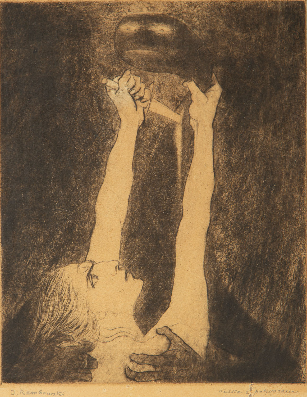 """Walka z potworem"", 1909"