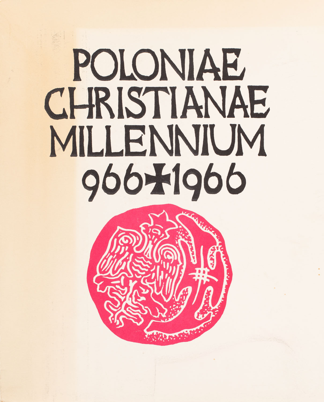 Poloniae Christianae Millenium 966 + 1966, 1966