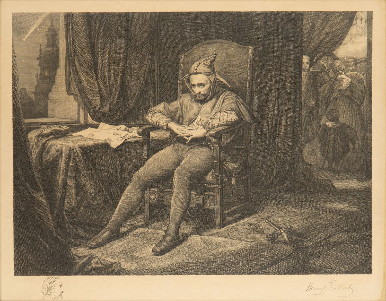 Stańczyk Jana Matejki, 1886