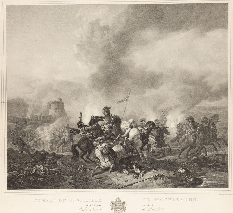 Bitwa kawalerii wg Philipsa Wouvermanna