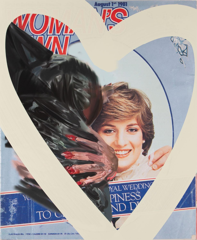 """""""M. jedzie na ślub Diany Spencer, 1981"""", 2021"""