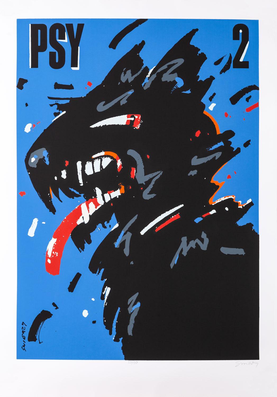 "Plakat ""Psy 2"", 1998"