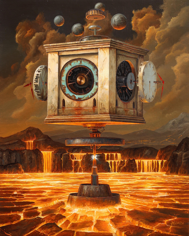 Zegar wulkaniczny, 2021