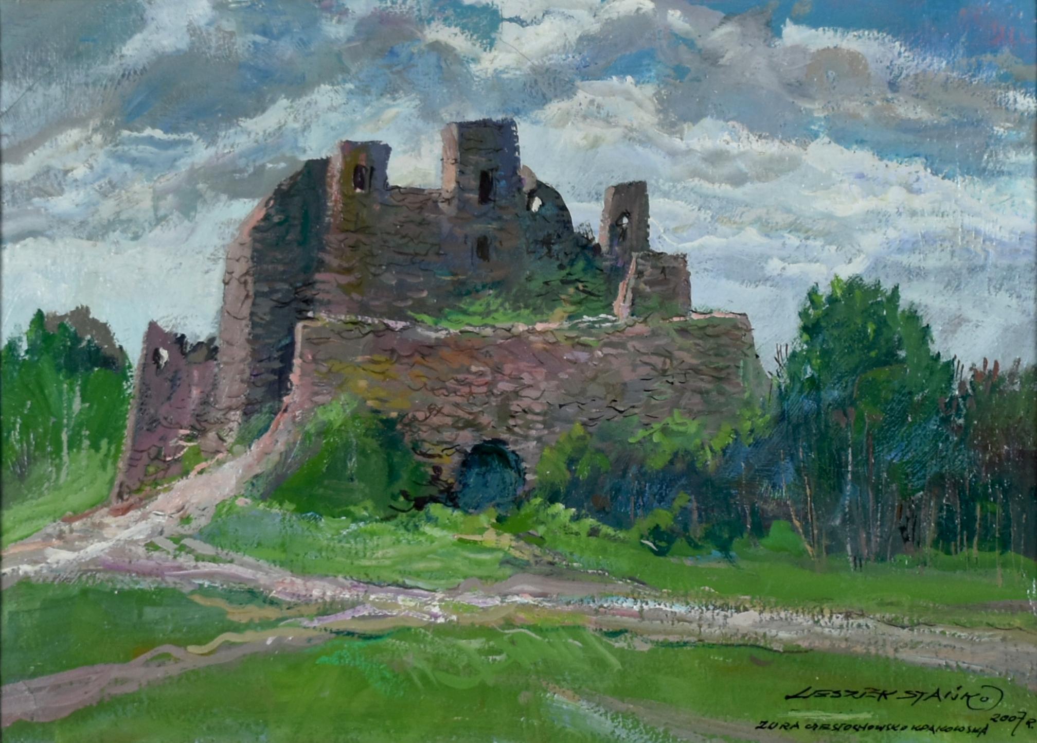 Zamek – Jura Krakowsko – Częstochowska, 2007