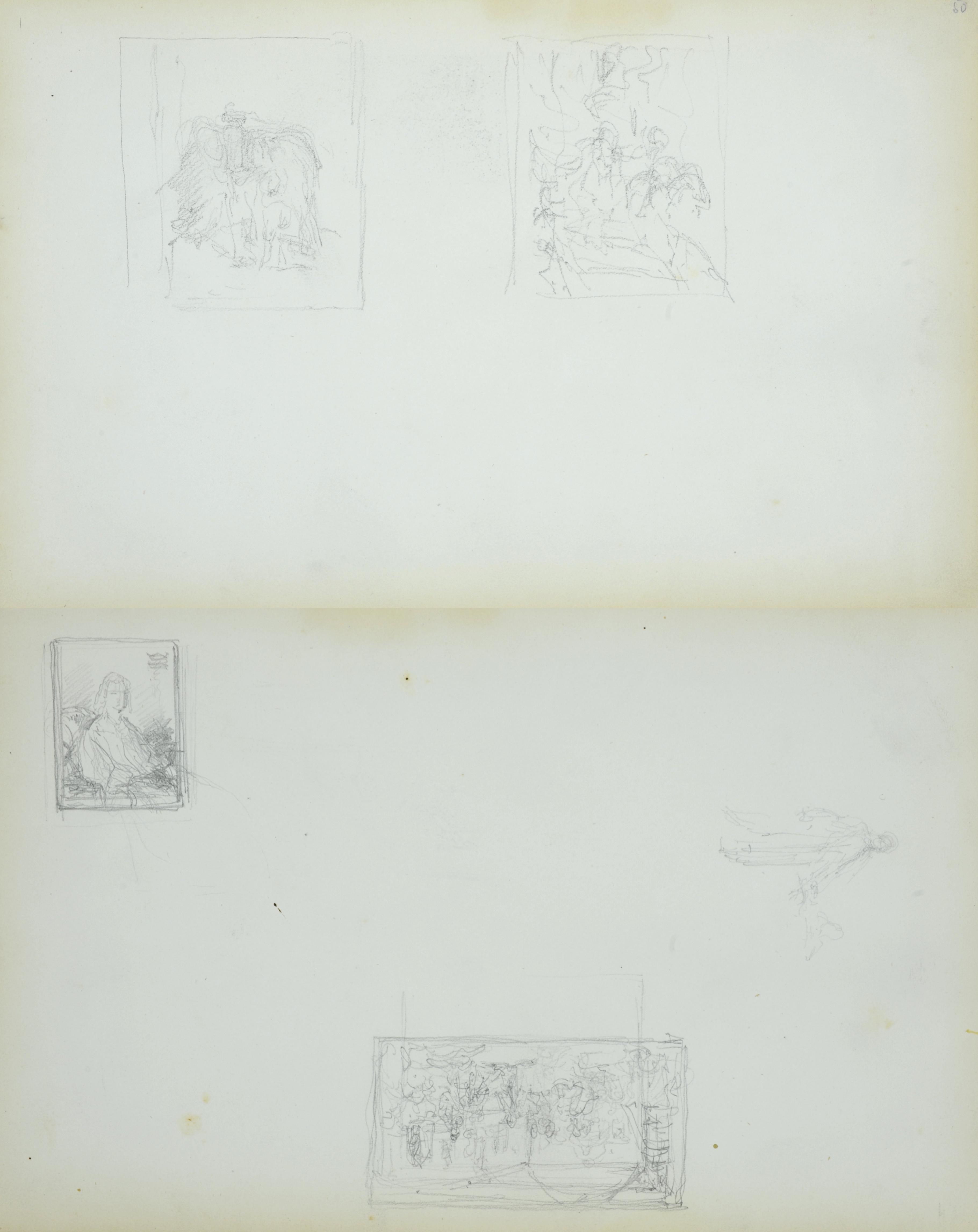 Miniaturowy zapis dwóch obraz
