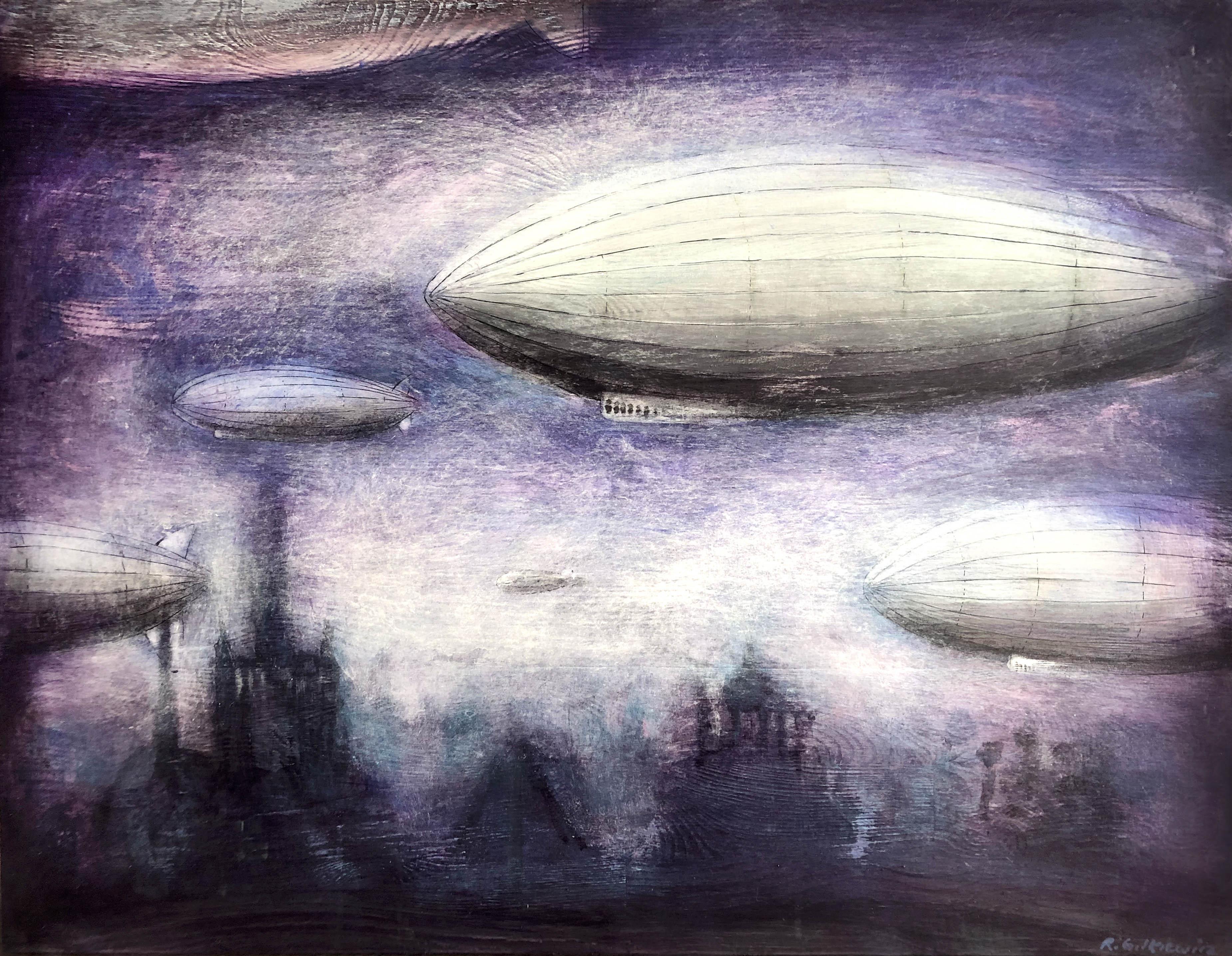 Lot o purpurowym świcie, 2021