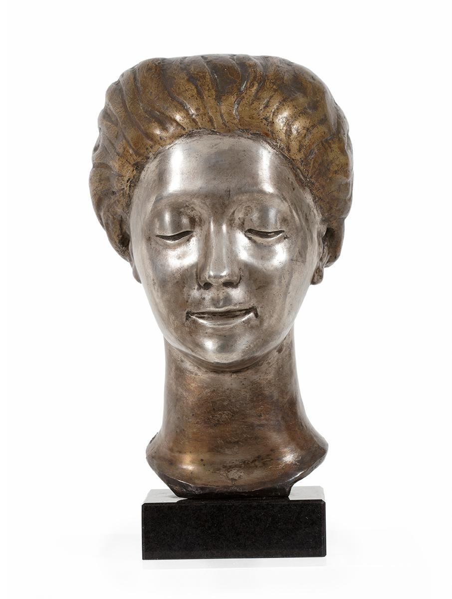 Głowa dziewczyny, lata 20. XX w.