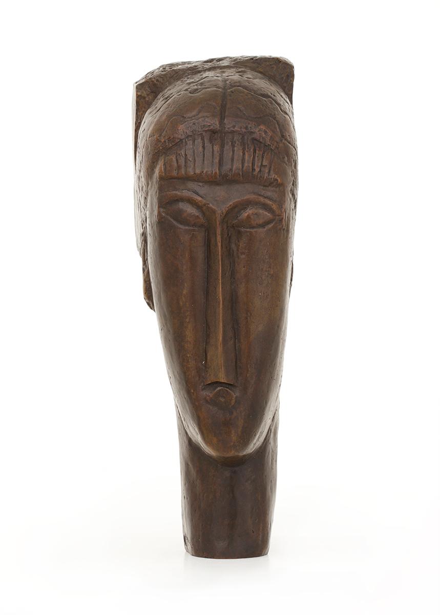 Tête de jeune fille à la frange, 1911-1912
