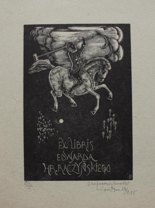 Ex-libris Edwarda Hr. Raczyńskiego (1935)