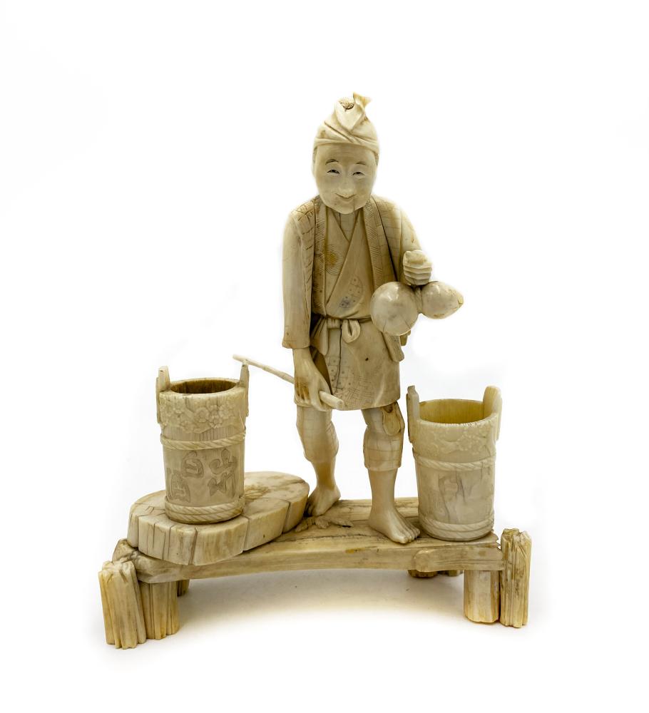 Figurka Nosiwoda (Chiny, XIX/XX w.)