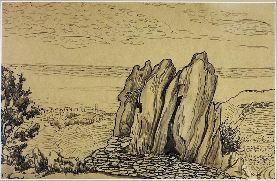 Collioure - Le chemin a la consolation, 1940 r.