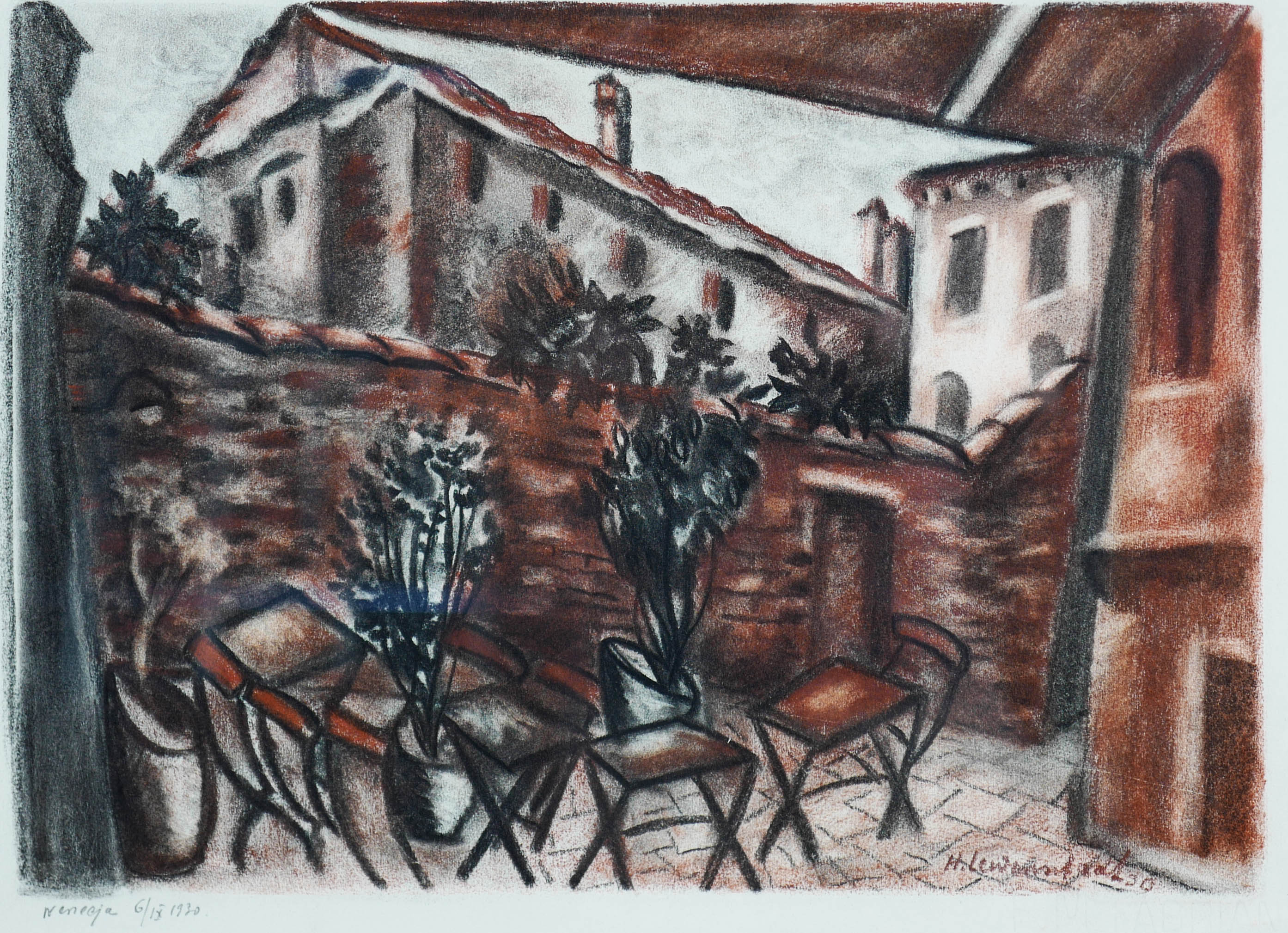 Wenecja, 1930 r.