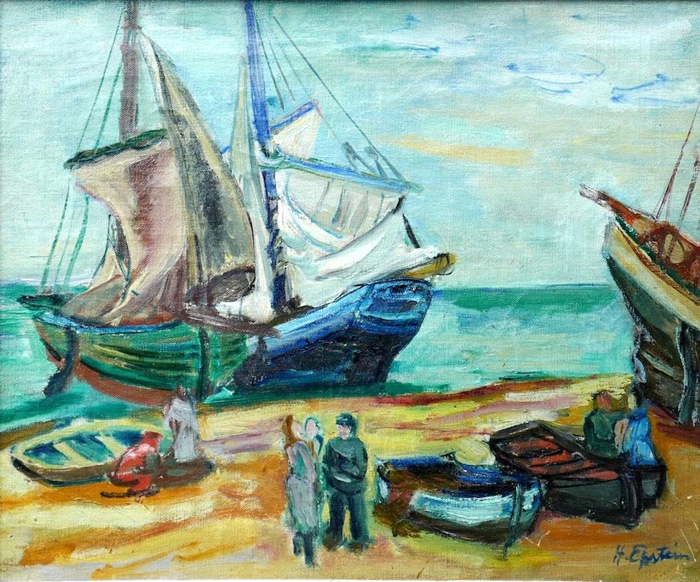 Rybacy, ok. 1925-1930 r.