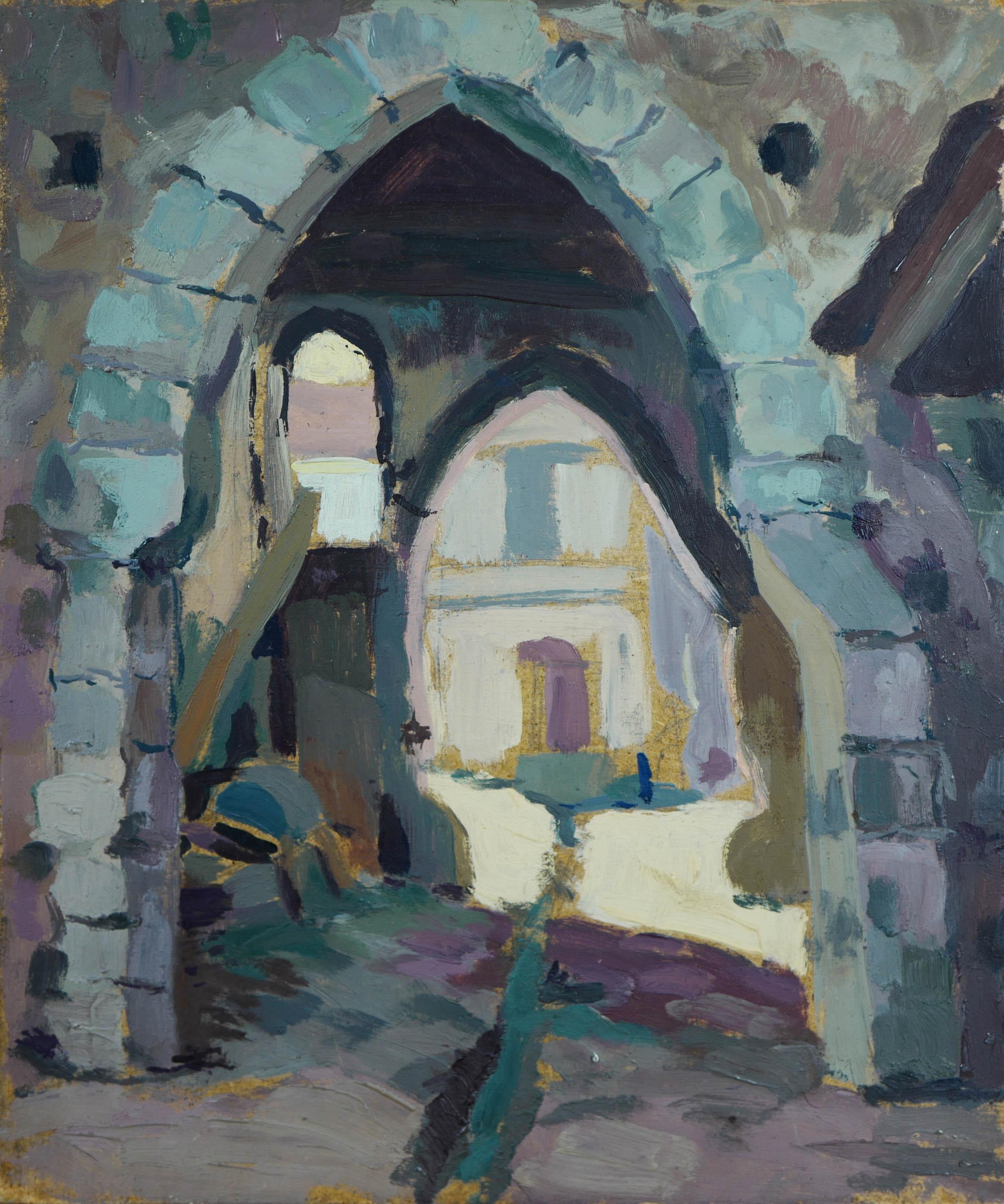 Vue de village, ok 1950