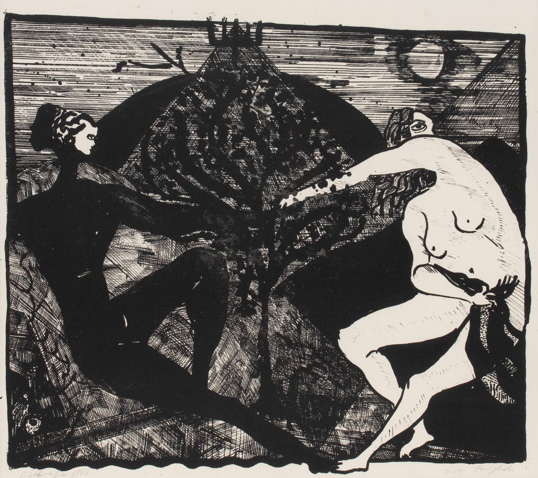 """""""Spotkanie przy drzewie"""", 1968"""