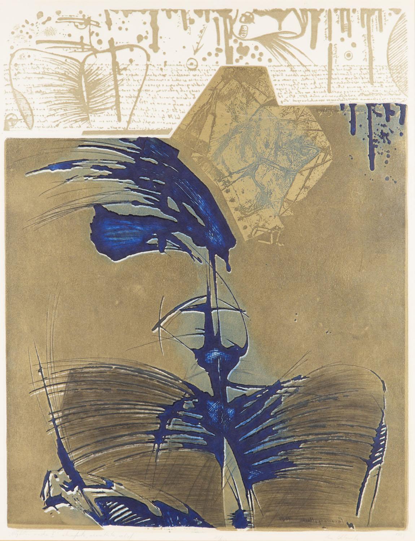 """""""Błękitna maska I"""", 1989"""