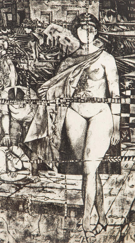 """Rowerzysta III"", 1966"