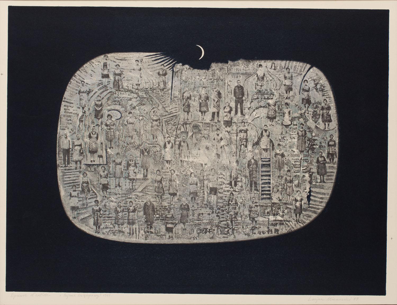 """""""Pejzaż księżycowy"""", 1964/1989"""