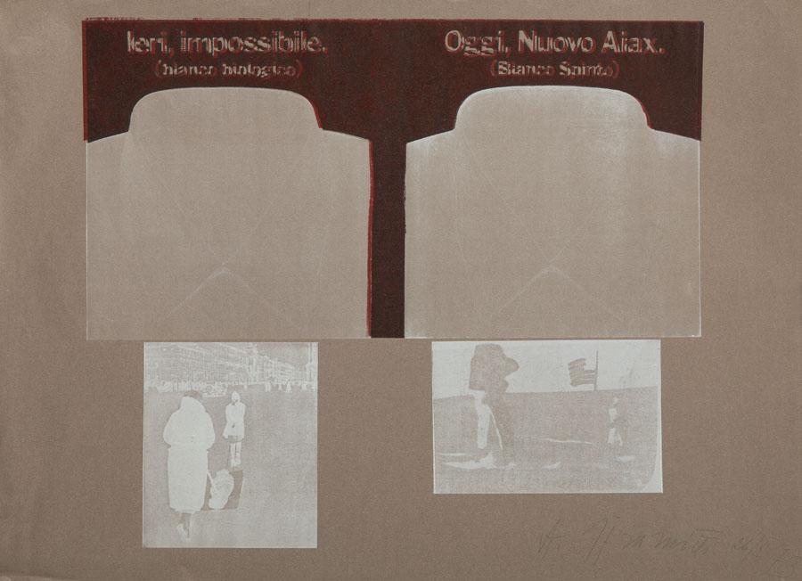 """""""Ieri, impossibile. Oggi, Nuovo Aiax."""", 1973"""