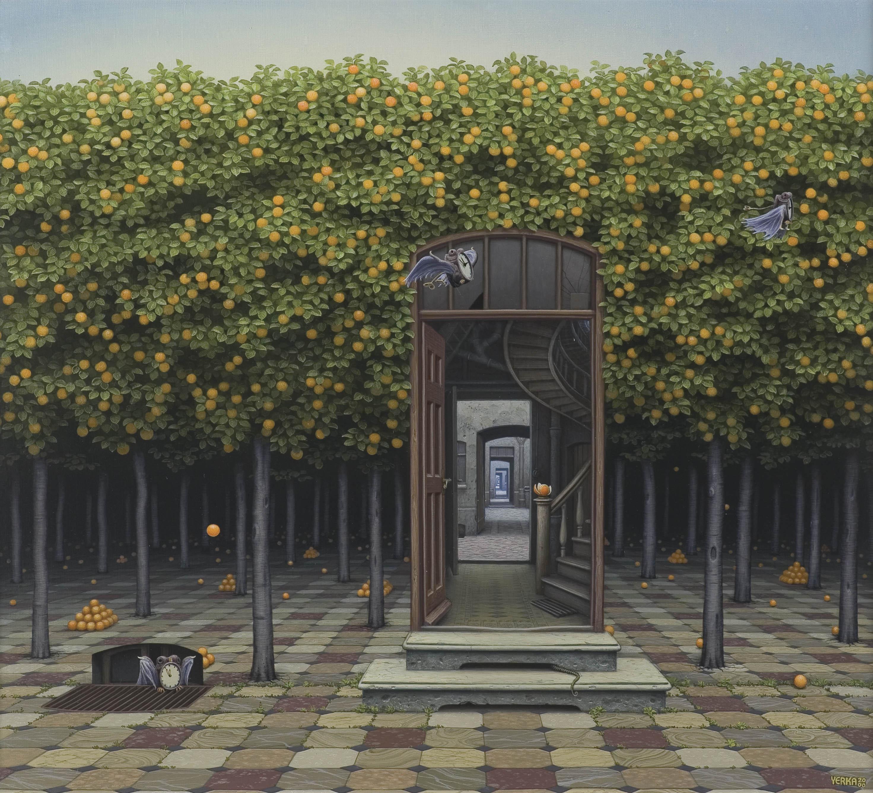 ZAPACH POMARAŃCZY, 2000 (inny tytuł: Gaj pomarańczowy)