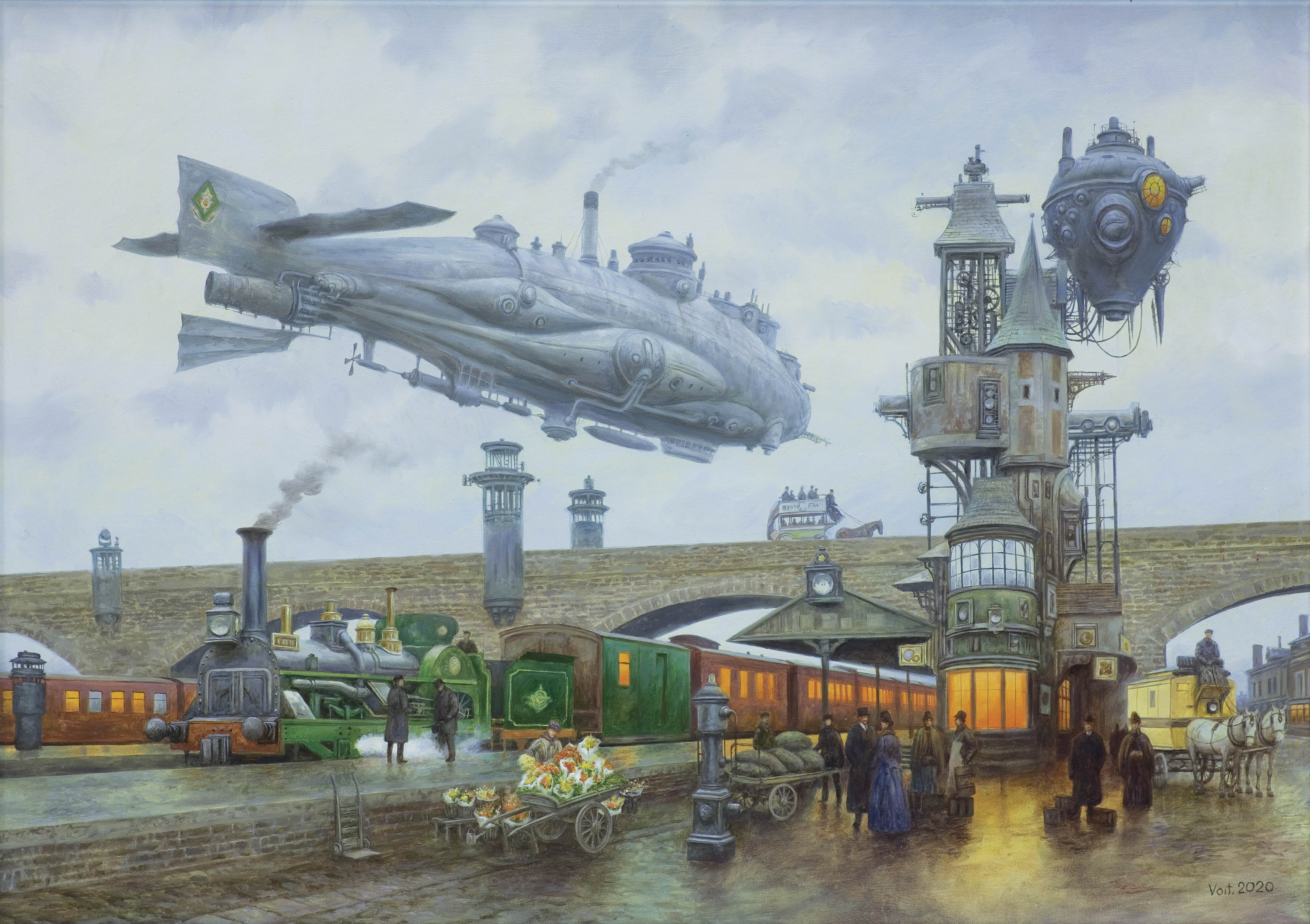 ARRIVAL OF THE TRAIN, 2020