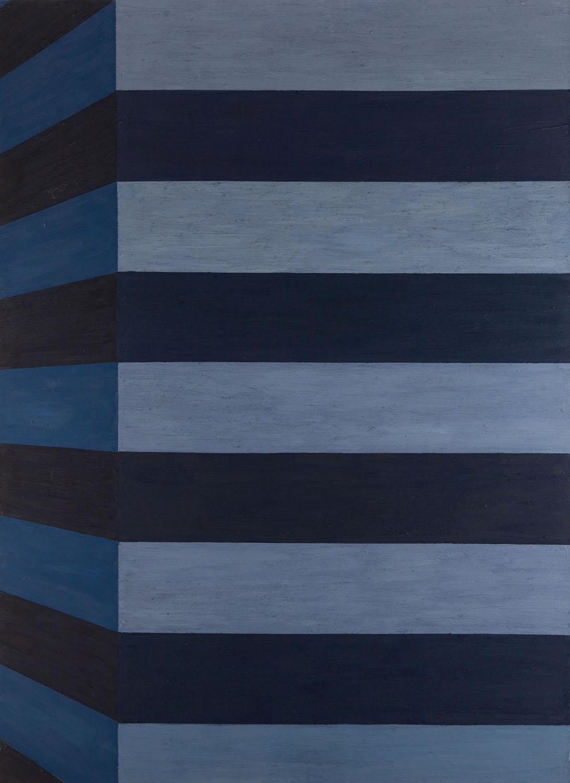 """""""Niebieski"""", z cyklu """"Hommage a Krasiński"""", 2006"""