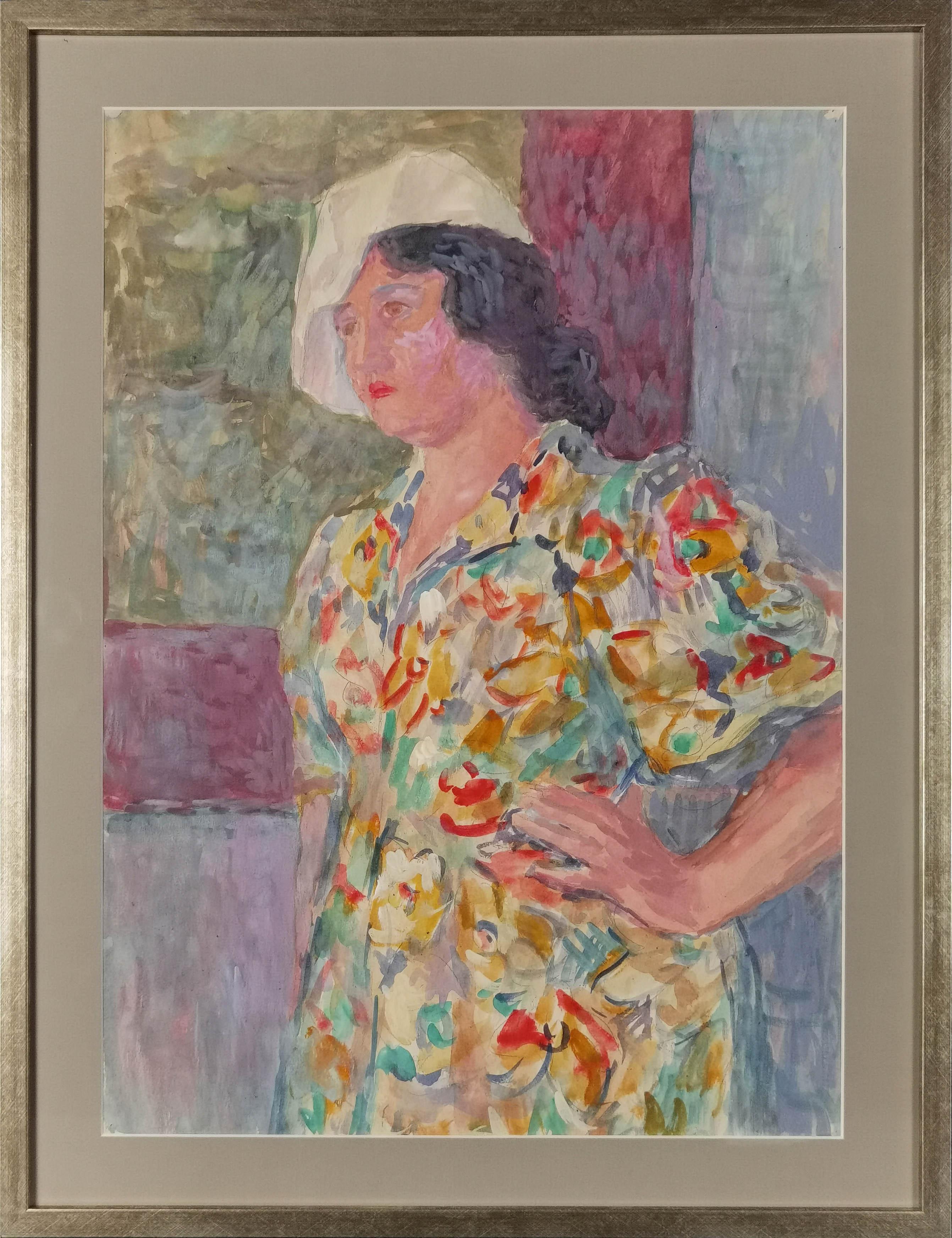 Studium portretowe - p. Wanda