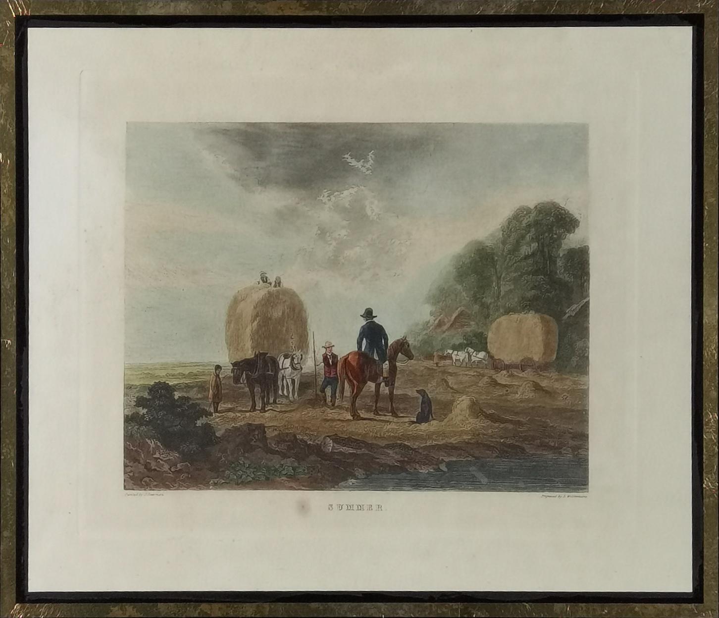 Rytował Dean WOLSTENHOLME SR (1757-1837) wg John DEARMAN (1824-1856)