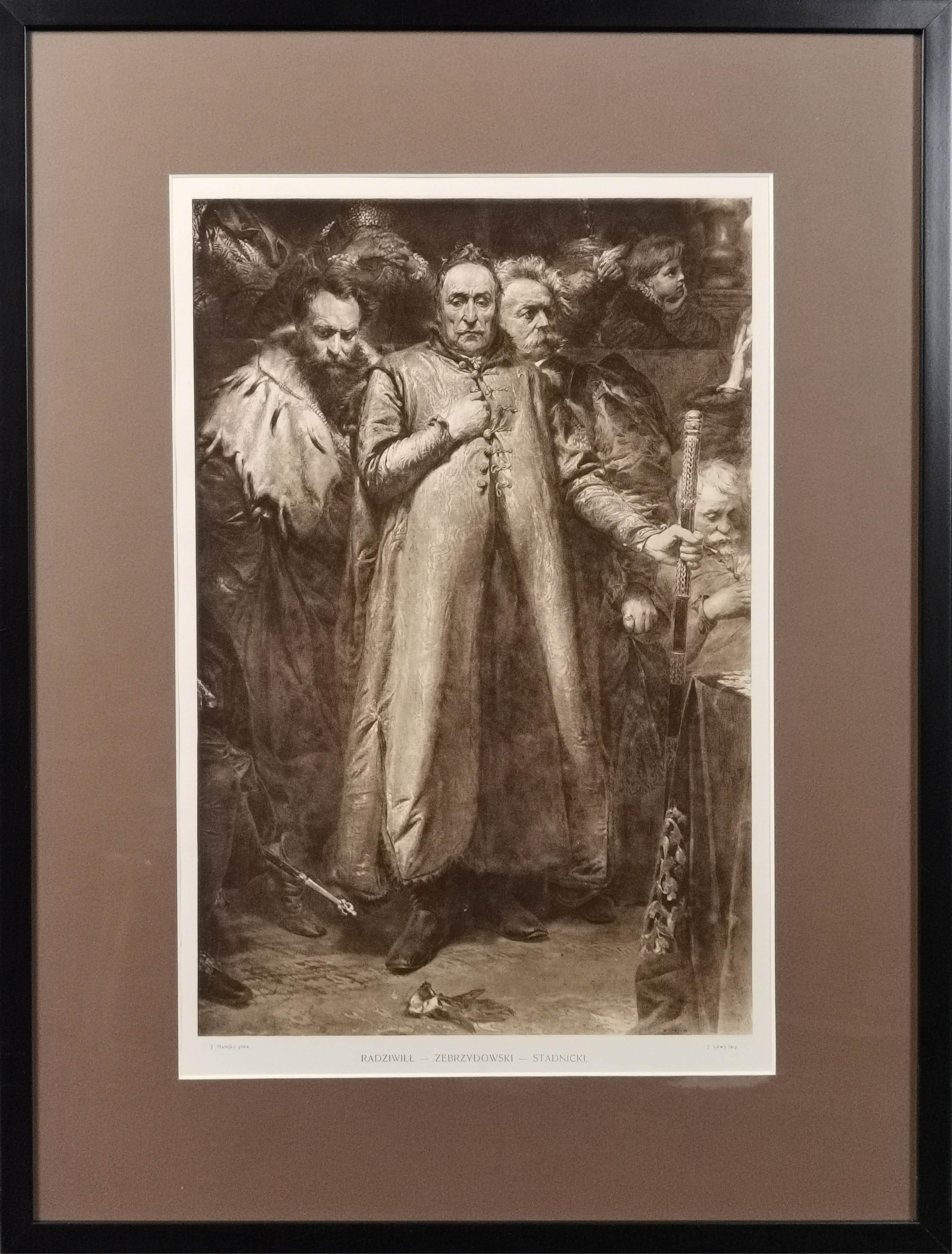 Jan MATEJKO (1838-1893) - według