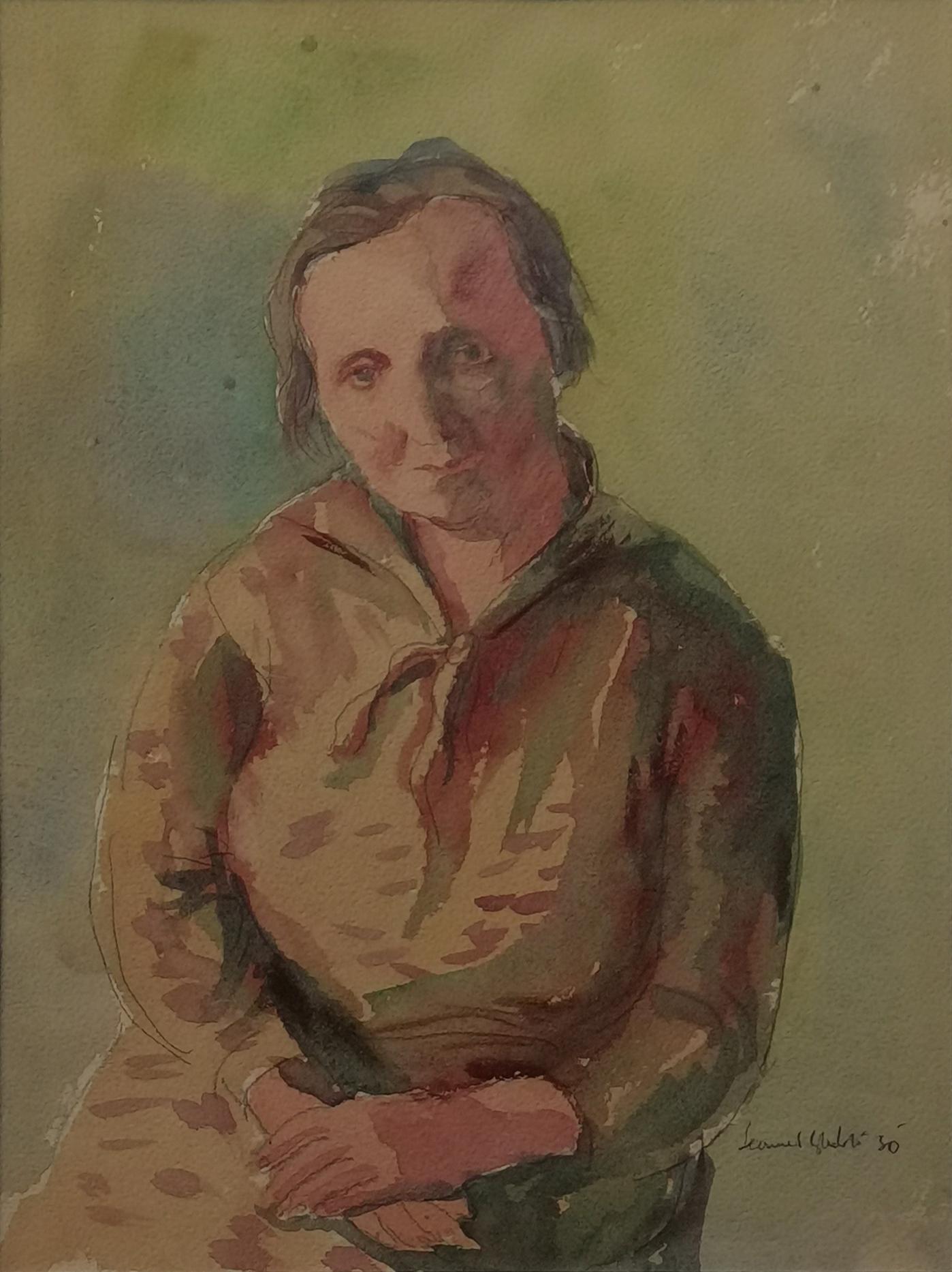 Portret matki, 1930