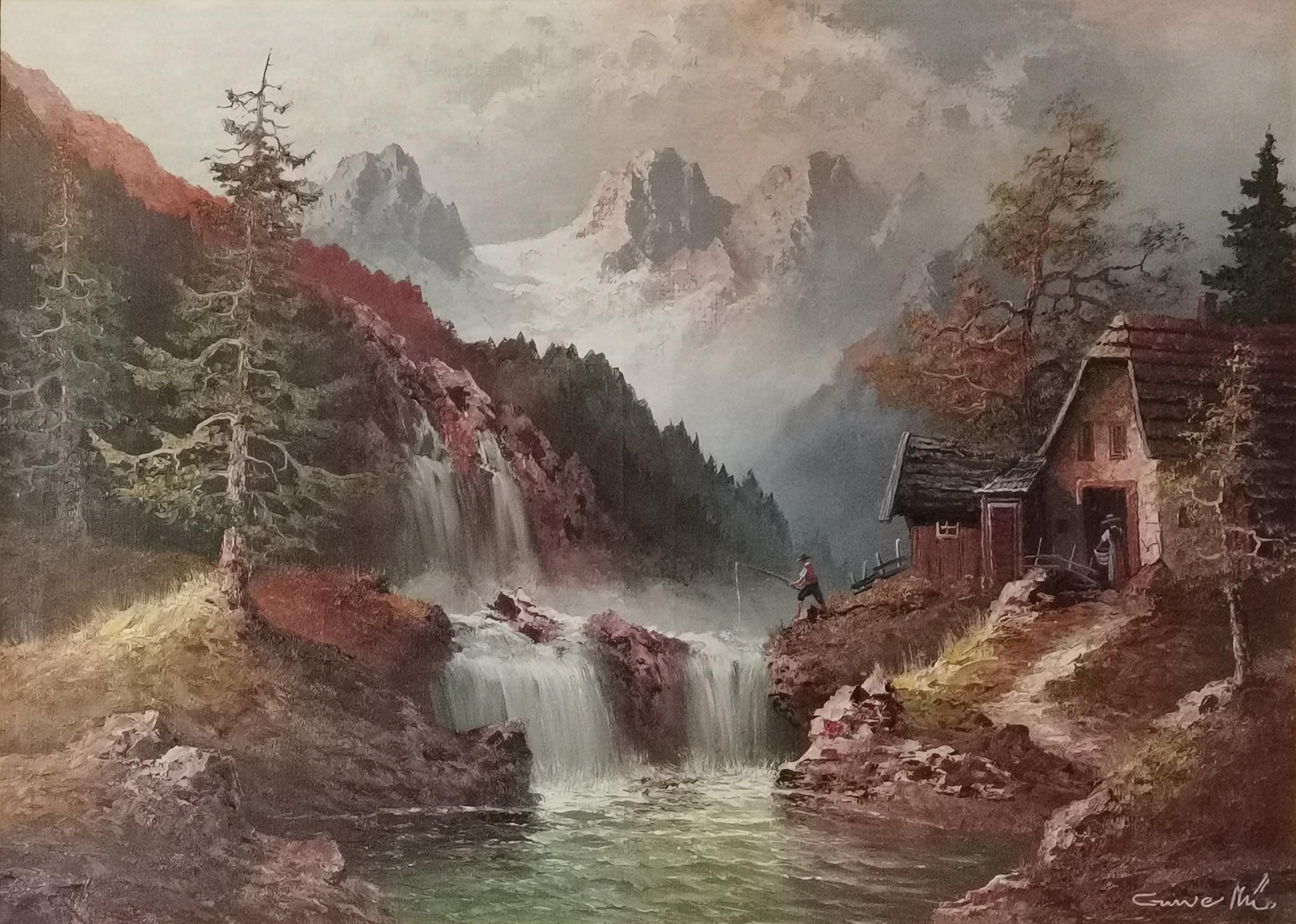 Pejzaż górski