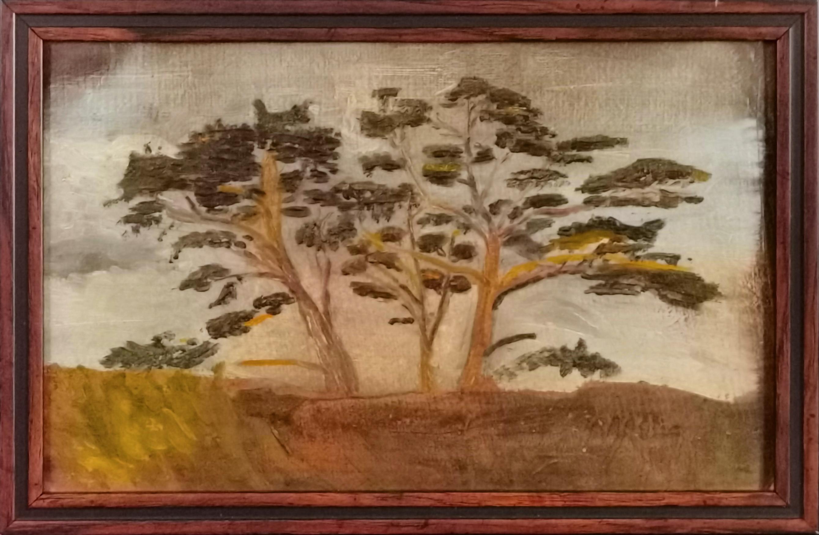 Studium drzew, ok. 1915